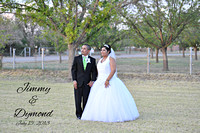 Jimmy & Dymond Wedding